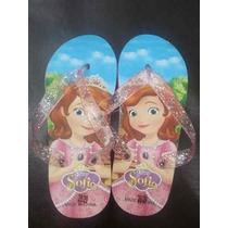 Cholas/ Sandalias Para Niñas De La Princesa Sofia Disney