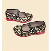 Zapatos Hot Chocolate Design Mini Leopardo Talla 29