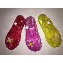 Sandalias En Plástico Escarchado Para Niñas A La Moda