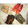 Remate Zapatos Usaditos Para Niña Ideal Para Casa Juego Lote