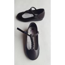 Zapatos De Niña Marròn Zara Talla 24