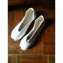 Zapatillas Torerita Para Danza O Ballet En Cuero