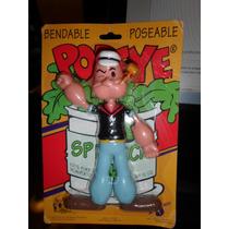 Fabulosa Figura De Colección De Popeye - Marca Nj Croce