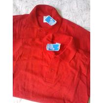 Chemises Escolares Rojas Ovejitas