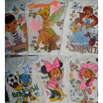 Franelillas Y/o Guarda Camisa, Para Niñas Y Niños.