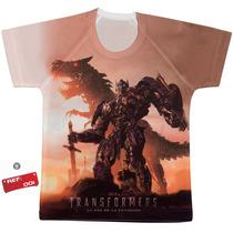 Franela De Niño De Transformers Extinción Varios Modelos