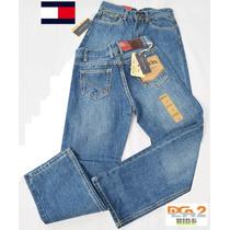 Pantalon Blue Jeans Tommy De Niño Clasico