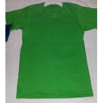 Franelas Unicolores Para Niños Talla 6 Y 8 (mayor Y Detal)