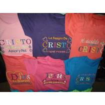 Franelas Con Mensajes Cristianos Para Niños Y Niñas