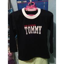Sueter Manga Larga Para Niños Tommy