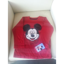 Franelas Pullover Disney Importadas Para Niños