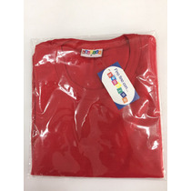 Franela Roja Bambino De Algodón,tallas 2,4,6,8,10,12,14,16
