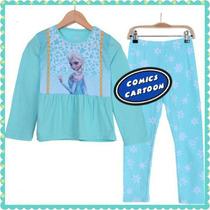 Pijamas Infantiles Niñas Personajes Frozen Peppa Princesas
