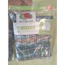 Tripack 3 Boxer Fruit Of The Loom Talla M Chico 10-12 Cambio