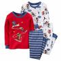 Pijamas Para Niños Carters 4 Piezas Nuevas