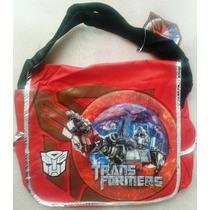 Transformers Optimus Morral Bolso Cruzado Escolar Impor Orig