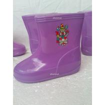 Botas Plásticas Para La Lluvia 21 Al 26