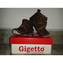 Zapatos Gigetto Niño-bebé Con Soporte Talla 17 ¡¡¡nuevos!!!
