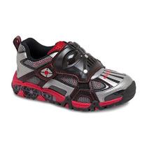 Zapatos Stride Rite Star Wars Luces Sonidos Usado Como Nuevo