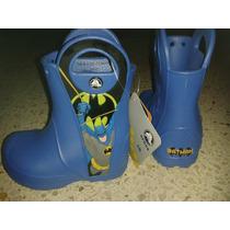 Botas De Niño Crocs Batman