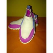 Zapatos Playeros O Zapatillas Playeras De Niña Importados,