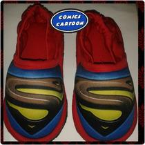 Pantuflas Babuchas Niños Superman Batman Intensamente Otros