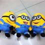 Minions - Peluches De Minions Ojos 3d - 18 Cm