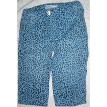 Pantalon De Tela Estampado Para Niña Epk