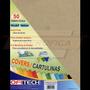 Cartulina Textura De Cuero Tamaño Carta 150gr 50 Und Beige
