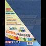 Cartulina Textura De Cuero Tamaño Carta 150gr 100 Und Azul