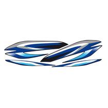 Calcomanias Para Yamaha 115 Especial Azul Moto