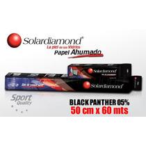 Papel Ahumado Solardiamond Black Panther 51cm X 60 Mts...