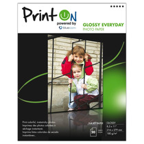 Printon Photo Paper Glossy (8.5x11 ),20 Hoj,180gsm Ptopg180l