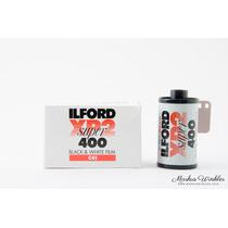 Rollo Fotografico Ilford Xp2 Super 400 Blanco Y Negro.