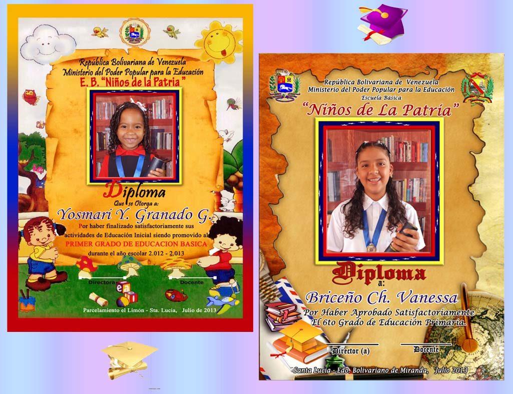 Paquetes De Graduación Diplomas Medallas Boton Fotos