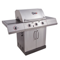 Parrillera Char-broil Linea Red 3 Quemadores A Gas+regalo