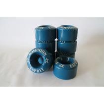 Ruedas Patines 4 Ruedas Azul Azules Artistico Canada Dolly