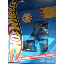 Patines Lineal Hotwheels Ajustables Modificables Talla 28-31