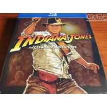 Indiana Jones The Complete Adventures Bluray Box Set Nuevo