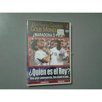 Dvd Fútbol: Quien Es El Rey? Pelé O Maradona?