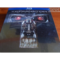 Terminator Anthology Box Set Bluray Original Nuevo Y Sellado