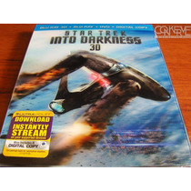 Star Trek Into Darkness Bluray 3d + Blu-ray + Dvd + Dc New