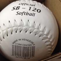 Pelota Tamanaco Softball Sb-120 Oficial Cork Center Original