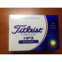 Pelotas De Golf Titleist Hp3 Distance Lc Nuevas
