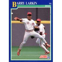 Extraordinaria Barajita De Barry Larkin. Score 1.991