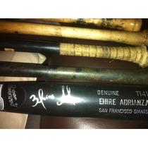 Bate Firmado Por Ehire Adrianza Autografiado