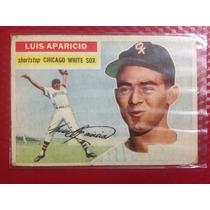 Cv Antigua Rookie Luis Aparicio 1956 Topps Novato Rc Hof