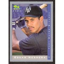 ( Geraval ) Barajita Liga Menor Edgar Herrera Best 1993