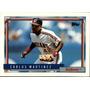 Bv Carlos Café Martinez Cleveland Indians Topps 1992 #280