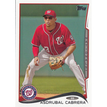 Cl27 Asdrubal Cabrera 2014 Topps Update #us-138 20-39